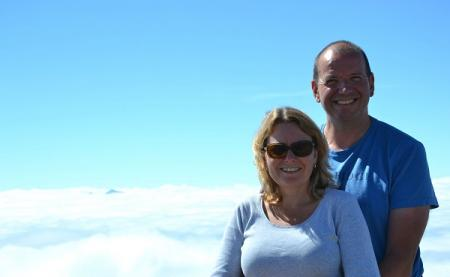 Caroline Connolly is an experienced home exchanger (here we are on Whistler Mountain during a wonderful Vancouver exchange in summer 2016)